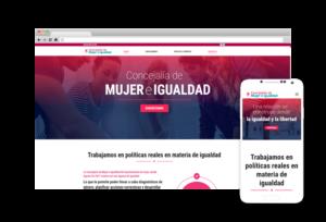 Nueva Web Mujer e Igualdad Aspe